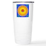 Spiral Sun Stainless Steel Travel Mug