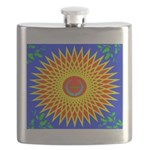 Spiral Sun Flask
