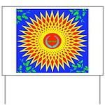 Spiral Sun Yard Sign