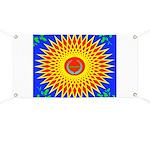Spiral Sun Banner