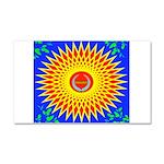 Spiral Sun Car Magnet 20 x 12
