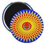Spiral Sun Magnet