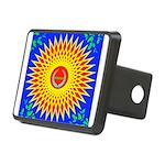 Spiral Sun Rectangular Hitch Cover