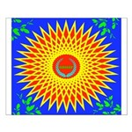 Spiral Sun Small Poster