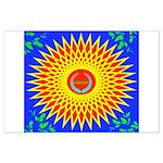 Spiral Sun Large Poster