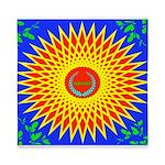 Spiral Sun Queen Duvet