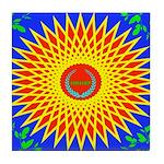Spiral Sun Tile Coaster