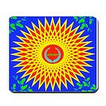 Spiral Sun Mousepad