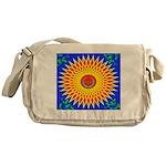 Spiral Sun Messenger Bag