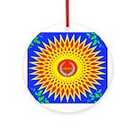 Spiral Sun Ornament (Round)