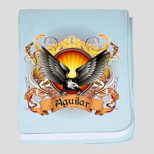 Aguilar Family Crest baby blanket