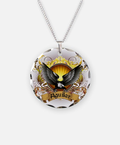 Aguilar Family Crest Necklace