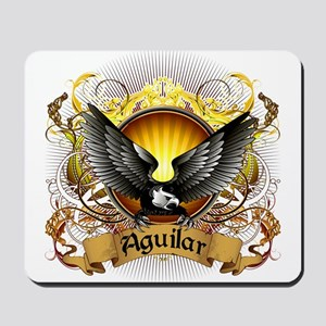 Aguilar Family Crest Mousepad