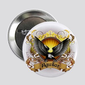 "Aguilar Family Crest 2.25"" Button"