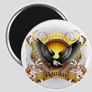 Aguilar Family Crest Magnet