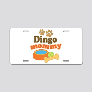 Dingo Mom Aluminum License Plate