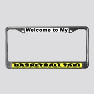 Mom's Basketball Taxi License Plate Frame