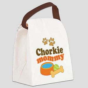 Chorkie Mom Canvas Lunch Bag