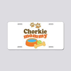 Chorkie Mom Aluminum License Plate
