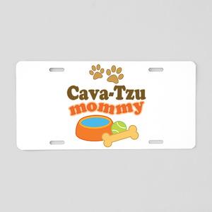 Cava-Tzu Mom Aluminum License Plate