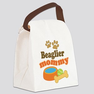 Beaglier Mom Canvas Lunch Bag