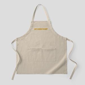 Got Nappy Head? BBQ Apron