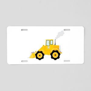 Loader Tractor Aluminum License Plate