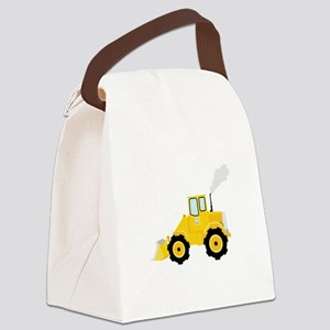 Loader Tractor Canvas Lunch Bag