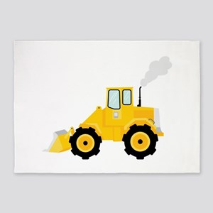 Loader Tractor 5'x7'Area Rug