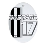 mustang 2017 Oval Ornament