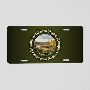 Losiny Ostrov NP Aluminum License Plate