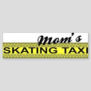 Mom's Skating Taxi Bumper Sticker