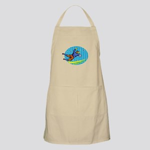 Goalie Soccer Football Player Retro Apron
