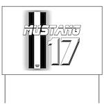 mustang 2017 Yard Sign