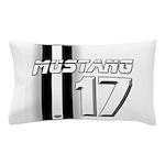 mustang 2017 Pillow Case