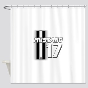 mustang 2017 Shower Curtain