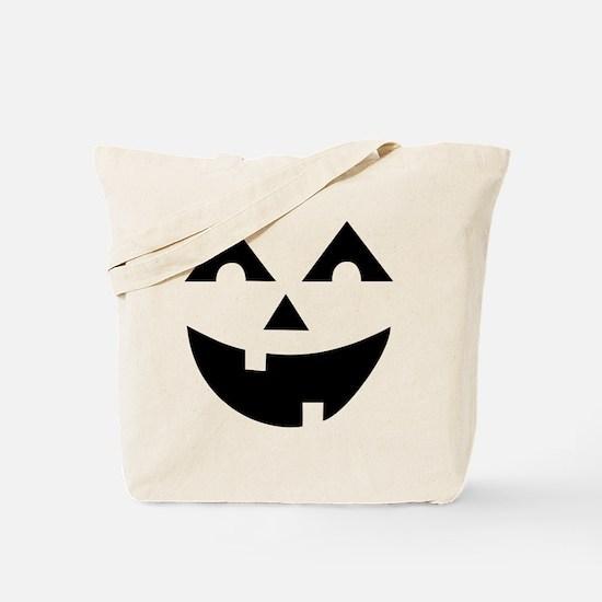 Laughing Jack O'Lantern Tote Bag