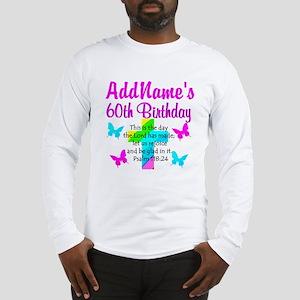 GOD LOVING 60TH Long Sleeve T-Shirt