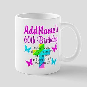 GOD LOVING 60TH Mug