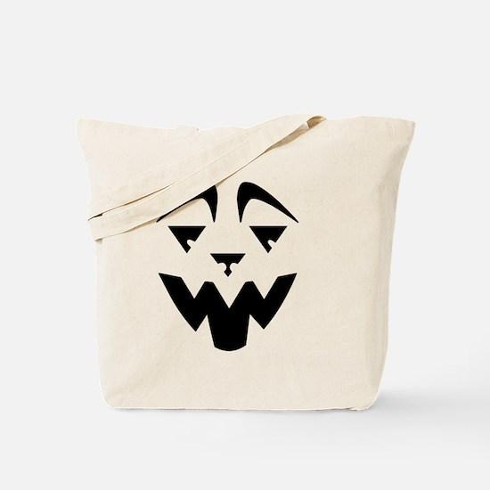 Lion Jack O'Lantern Tote Bag
