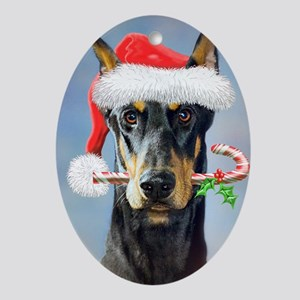 Doberman Christmas Ornaments - CafePress