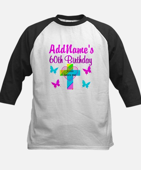 REJOICING 60TH Kids Baseball Jersey