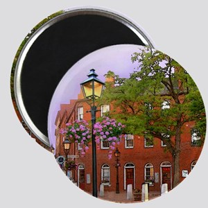 Market Square Tile 1of4 Magnet