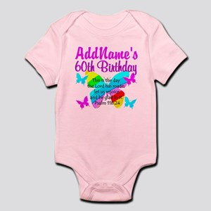 UPLIFTING 60TH Infant Bodysuit