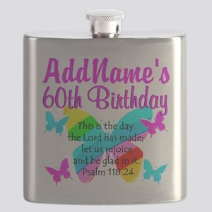 UPLIFTING 60TH Flask
