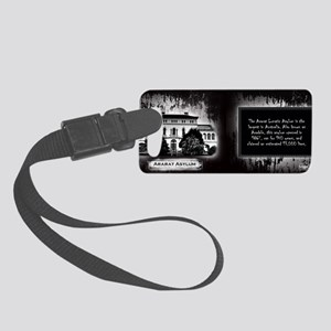Ararat Lunatic Asylum Historical Small Luggage Tag