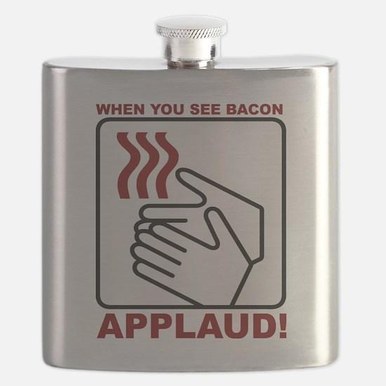 Applaud Bacon Flask