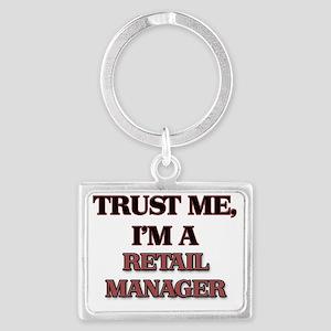 Trust Me, I'm a Retail Manager Landscape Keychain