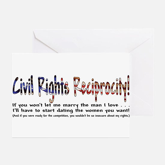 Civil Rights Greeting Cards (Pk of 10)