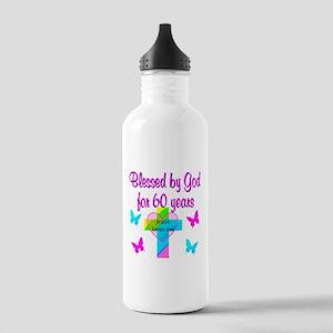 GOD LOVING 60TH Stainless Water Bottle 1.0L